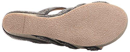 Volatile Women's Sensation Wedge Sandal Pewter clearance low shipping for sale under $60 GDk2u