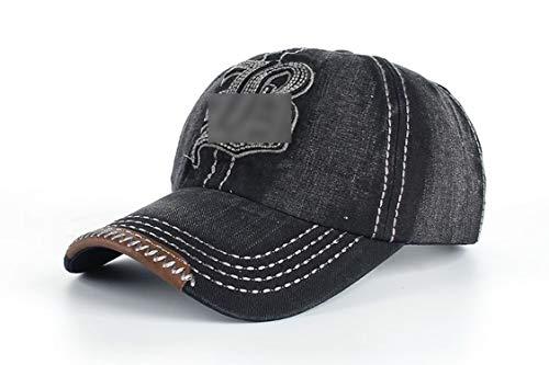 キャップ 刺繍レター B キャップ コットン 野球帽,ブラック