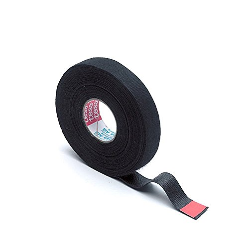 Tesa 51608 15 Original Wiring Loom Harness Adhesive Cloth Fabric Tape (19 mm x 25 m) - Wiring Loom Cloth