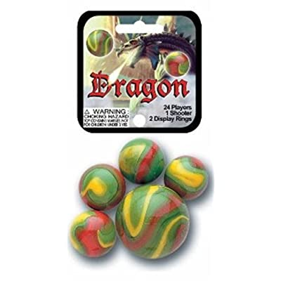 FS USA Dragon Marbles: Toys & Games
