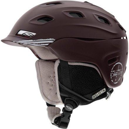 Smith Vantage Helmet Oxblood Rip City, L, Outdoor Stuffs