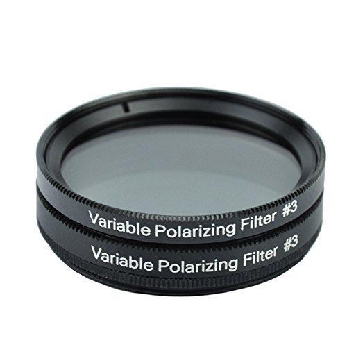 Gosky 2 Inch Variable Polarizing Filter No3 for Telescopes &