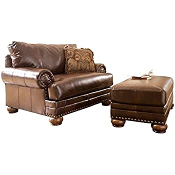 Ashley Furniture Signature Design   Chaling Chair And A Half With 1 Accent  Pillow   Traditional