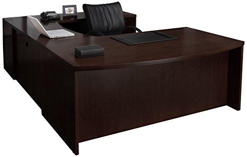 Mayline MEU3ESP Mira Desk, Espresso -