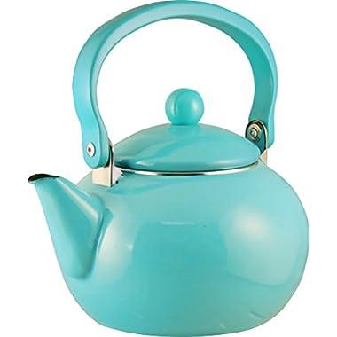 Calypso Basics, 2 Quart Teakettle, Turquoise