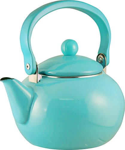 Calypso Basics by Reston Lloyd Enamel-on-Steel Tea Kettle,