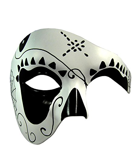 Kayso Men's Day Of Defeat Masquerade Mask Mask Style13 (New Orleans Costume)