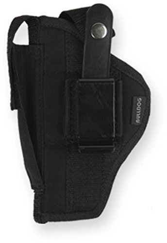 Bulldog Belt and Clip Ambi Holster (Fits Most Large Frame Auto's with 4-4 1/2-Inch Barrels, High Point Standard)