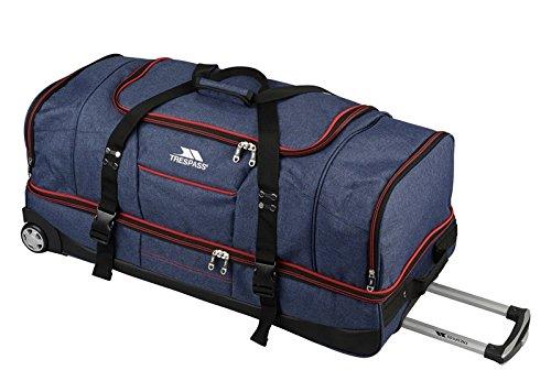 Trespass Galaxy Rolling Duffle Wheeled Travel / Sports Bag (72cm, Blue /...