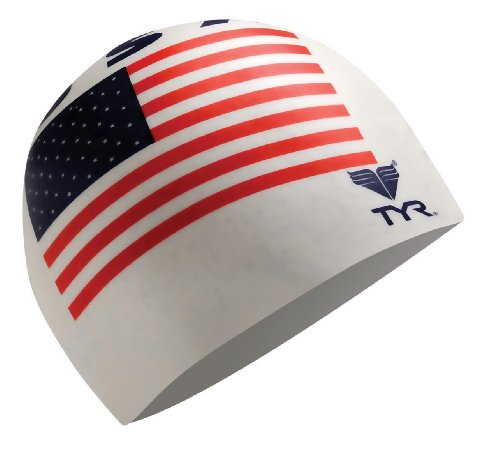 (TYR USA Latex Cap, White)