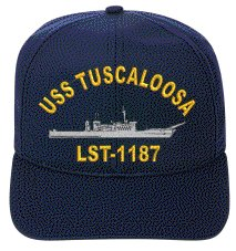 USS TUSCALOOSA LST-1187 EMBROIDERED SHIP - Stores Tuscaloosa