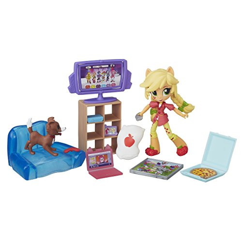 My Little Pony Equestria Girls Minis Applejack Slumber Party Games Set ()