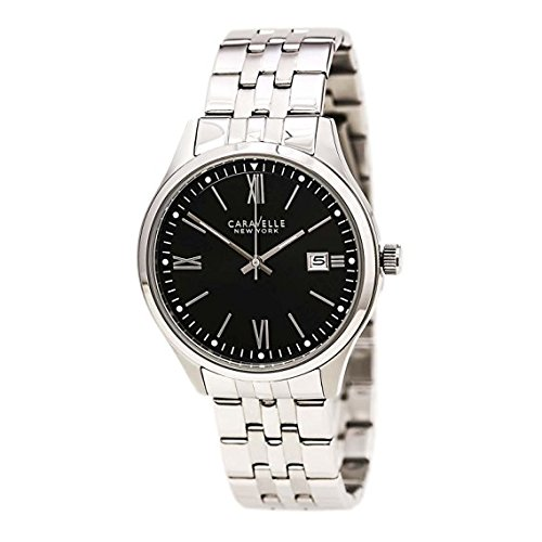 Bulova Men's Quartz Stainless Steel Casual Watch, Color:Silver-Toned (Model: 43B144)
