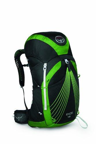 Osprey Packs Exos 48 Backpack, Basalt Black, Medium