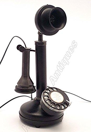 Candlestick Retro Telephone Antique Replica Home Office Decor & gift Item