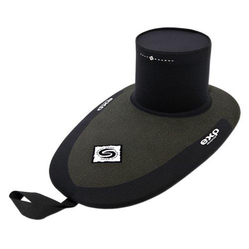 Snap Dragon Kevlar Kayak Spray Skirt w/ Implosion Bar-XLDeck-XL/Tunne