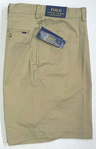 Chino Polo Shorts (RALPH LAUREN Men's Classic Fit Pleated 9