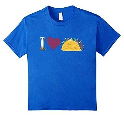 Mexican Food I Love Tacos T-Shirt