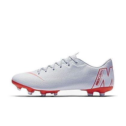 2c4a7874fca1 NIKE Mercurial Vapor 12 Academy MG Soccer Cleat (Wolf Grey) (Men s  8 Women s 9.5)