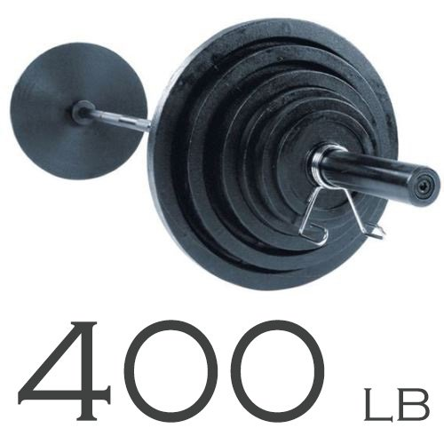 Body-Solid Power Rack GPR378 with 400lb. Olympic Weight Set