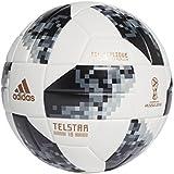 Bola Futebol Campo Adidas Fifa Copa Do Mundo 2018 Telstar Top Replica Cor: BCO - Tam: UN