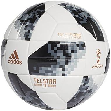adidas World Cup Toprx Balón, Hombre, (Blanco/Negro/Plamet), 5 ...