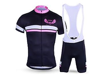 Yhcean Ropa de Deporte Traje de Ciclismo para Hombres + ...