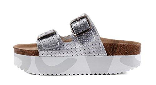 Cumbia- 30559 - Zapato Señora Piel Marrón