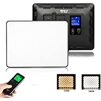 VILTROX VL-200 192 Beads Bi-Color 30W Dimmable LED Video Light Panel Adjustable Color Temperature 3300K-5600K, 2.4G Wireless Remote Control, CRI 95+ for Studio, Youtube, Photography, Video Shooting