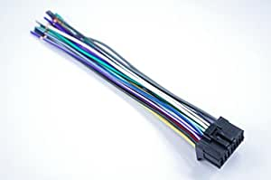 wire harness for pioneer avh p3200bt avh x5600bhs avh. Black Bedroom Furniture Sets. Home Design Ideas