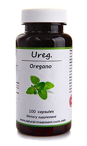 Eden Coffee Grinder (Hekma Center-Organic Oregano- Natural- for Lung and for Hair and Skin-100 Capsules)
