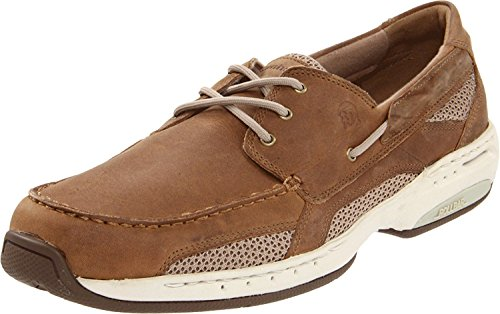 New Balance Dunham Men's Captain Boat Shoe, Tan, 50 D(M) EU/14.5 D(M) UK