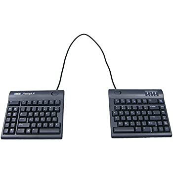 "Kinesis Freestyle2 Ergonomic Keyboard for PC (20"" Extended Separation)"
