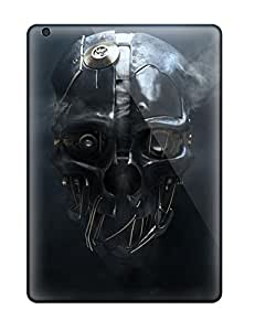 High Impact Dirt/shock Proof Cases Covers For Ipad Air (dishonored Mask)