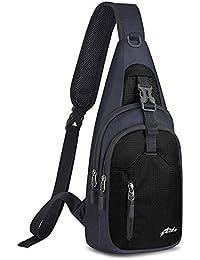 Sling Bag Sling Backpack,Shoulder Chest Crossbody Bag Purse Nylon Lightweight Multicolor Small Daypack Outdoor Hiking Camping Travel Women Men Boy Girls Kids Gifts