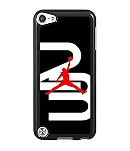 Brand Logo Michael Jordan Pattern For IPod touch 5th Coque Case With Unique Design Printed On Phone Coque Case Cover
