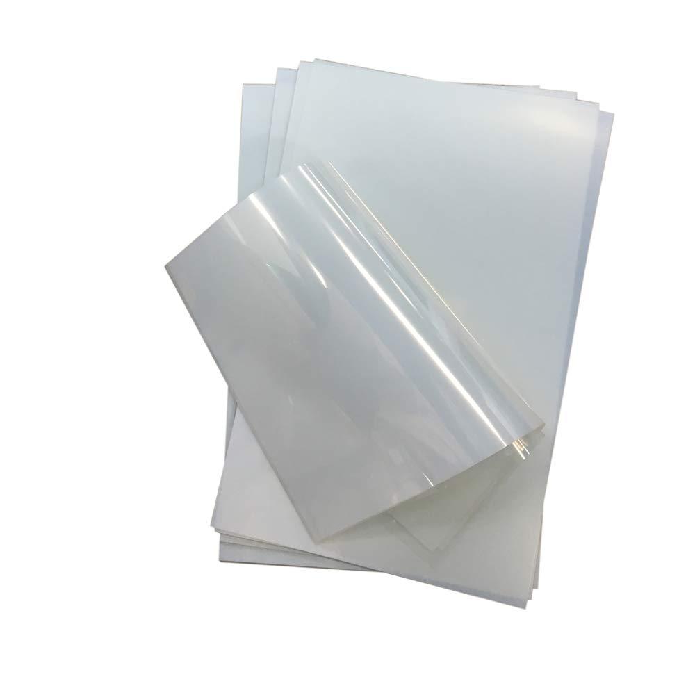 US Stock 100 Sheets/pack Premium Waterproof Inkjet Transparency Film 11'' x 17'' for Screen Printing
