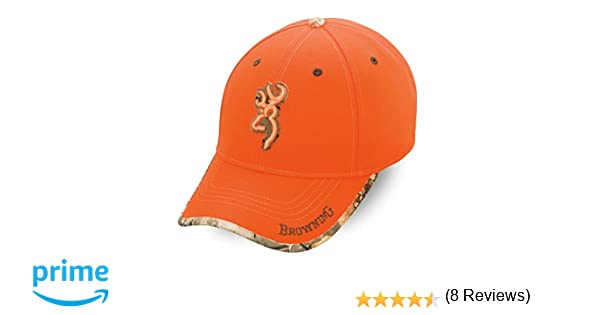 Browning Tapa Gorra, Unisex Adulto, Naranja, Talla Única: Amazon ...
