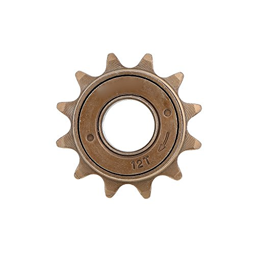 Zytree(TM) Bicycle Freewheel 12T Teeth 18MM 34MM Single Speed Freewheel Flywheel Sprocket Gear Bicycle Accessories Flywheel Sprocket