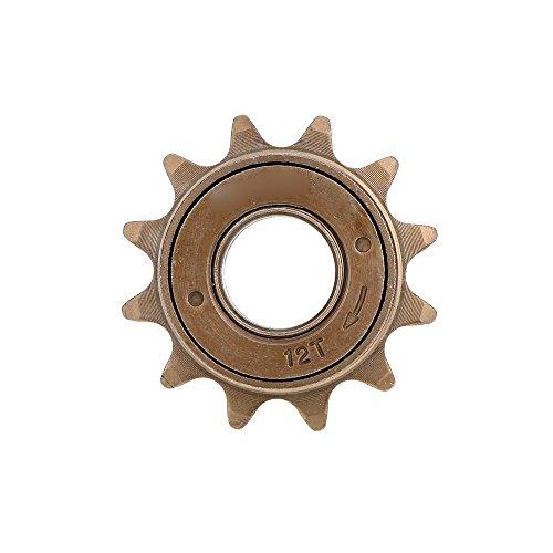 (Zytree(TM) Bicycle Freewheel 12T Teeth 18MM 34MM Single Speed Freewheel Flywheel Sprocket Gear Bicycle Accessories)