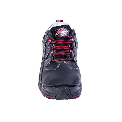 Cofra Sicherheitsschuhe Stoppie S3 SRC New Jogging, Halbschuhe, Größe 42, schwarz, 19120-001