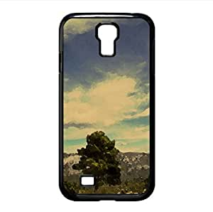 Natural Scenery - 1 Watercolor style Cover Samsung Galaxy S4 I9500 Case (Landscape Watercolor style Cover Samsung Galaxy S4 I9500 Case)