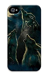 3 Werewolf Moon Polycarbonate Hard Case Cover for iphone 6 4.7 by kobestar