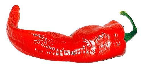 (HUGE!!! Cow Horn Pepper - A HOT SWEET PEPPER!!! GROWS HUGE!!!!!!!!(100 - Seeds))