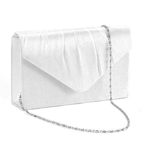 White Satin Purse - 8
