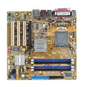 - Asus P5LP-LE Intel 945G Socket 775 mATX Motherboard w/Video, Audio & LAN