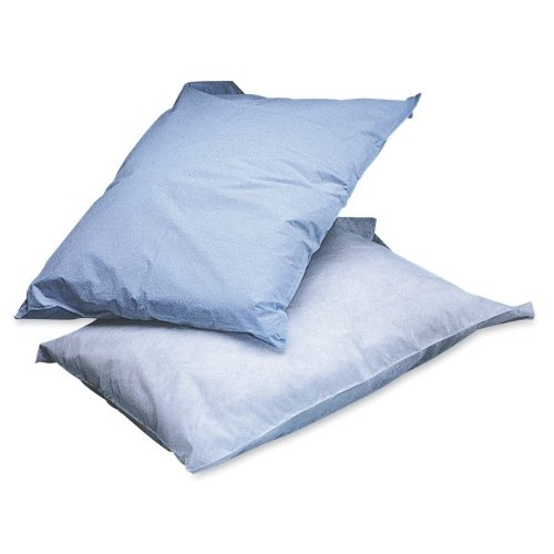 NON24346 - Disposable Tissue/Poly Pillowcases,Blue,Not Applicable Medline Blue Pillow