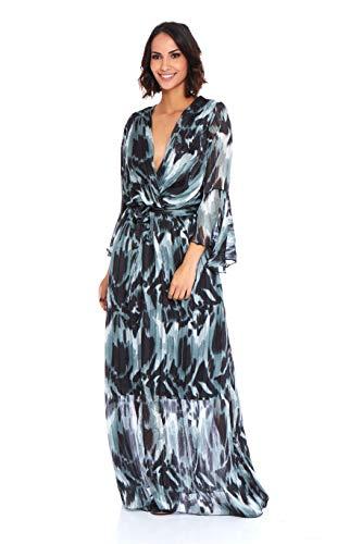 Gris Creations Doucel Cassidy 737p Robe Femme Longue Josefine YzYwqB