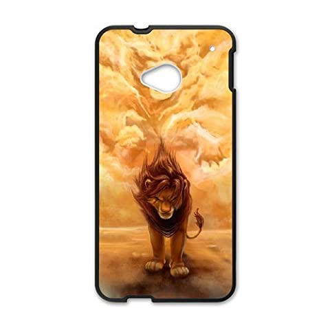 HTC One M7 Phone Case The Lion King Q22Q389074 (Lion King Htc One M7 Case)