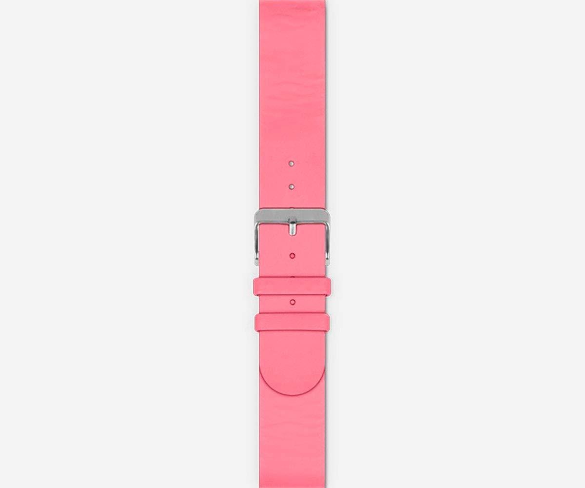 SPC Smartee Leather - Pulsera Smartwatch, Color Rosa